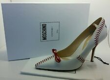 MOSCHINO Pointed Toe MAJOR LEAGUE Baseball DONNA Pumps Shoes sz 9 NIB $785