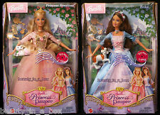 Erika Barbie Doll Anneliese Princess and the Pauper Singing Works Cats Lot 2 G