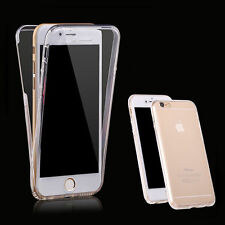 New 360° TPU Gel Jelly Skin Case Cover Crystal Clear For Apple iPhone 7 Plus#4