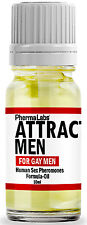 The Secret to ATTRACT GAY MEN SEX PHEROMONES COLOGNE OIL***SHIPS WORLDWIDE!!****