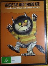 Where The Wild Things Are - and other Maurice Sendak stories - New & Sealed DVD