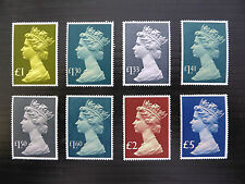 GB Machin 1977/87 to £5 (8) U/M SALE PRICE FP5820