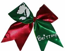 Little Mermaid Personalized Mystique Cheer Hair Bow