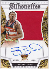 2013-14 PANINI PREFERRED SILHOUETTES AUTO: BRADLEY BEAL #12/35 AUTOGRAPH SWATCH