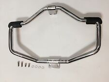 HARLEY DAVIDSON MUSTACHE CHROME ENGINE GUARD SPORTSTER SUPER LOW XL1200T 04-16