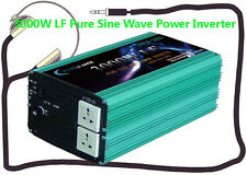 12000W Peak 3000W Low Frequency Pure Sine Wave Power Inverter 12V DC/110VAC 60Hz