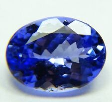 Natural Violet color blue Tanzanite 1.68ct 6x8x4mm oval shape, Tanzania