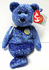 """Ty Beanie Baby - """"Decade, the 10th Year Bear"""", Brand New w/Mint Tags"""