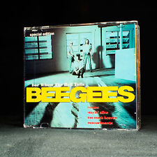 Bee Gees - For Whom The Bell Tolls - music cd EP