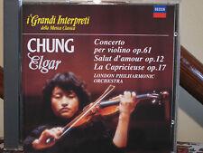 CHUNG  Elgar Concerto violino +..-CD-  Grandi interpreti-DECCA -DeAgostini