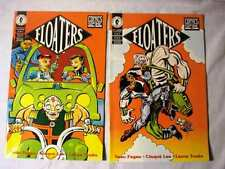 FLOATERS 5 ISSUE LIMITED SERIES (Sept 93-Jan 94, Dark Horse Presents) FP VF/NM