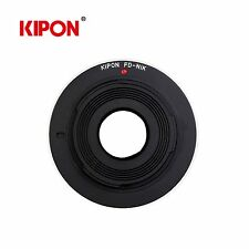 New Kipon Adapter for Canon FD Mount Lens to Nikon F AI Mount Camera