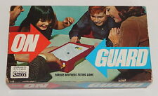 1967 ON GUARD Parker Brothers Tilting Game READ