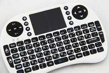 Israel Wireless Hebrew English pad Keyboard Mouse rii i8 Laptop mini PC Tablet