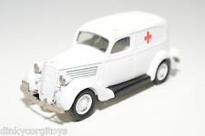 REXTOYS FORD V8 1935 AMBULANCE EXCELLENT CONDITION