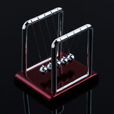 Newton's Cradle Steel Balance Balls Desk Physics Science Pendulum Desk Toy EA