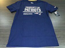 NFL Football Property of T Shirt On Field New England Patriots XXL Equipment