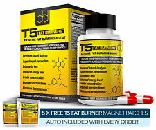 T5 FAT BURNERS: SCIENTIFICALLY BACKED EXTREME FAT / WEIGHT LOSS / DIET PILLS
