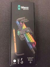 Wera Set di chiavi di angolo Multicolore 073593 Hex - plus Inbus 9pz. 1,5-10