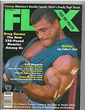 FLEX bodybuilding muscle magazine/Mr Olympia Dorian Yates/ Greg Kovacs  6-97