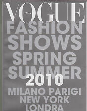 VOGUE ITALIA Numero No. 713 2010 SUPPL FASHION SHOWS COLLECTION