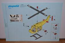 1421 playmobil bouwplan 3845 reddingshelicopter