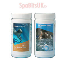 Bromine Tablets & Non Chlorine Shock Bundle Water Treatment Spa Chemical Hot Tub
