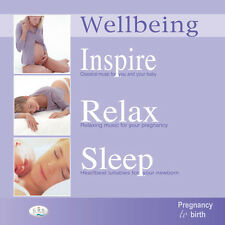 Pregnancy to Birth music  3CD pack.  Inspire Relax Sleep Mindfulness Music