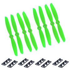 8pcs 4 Pairs 5x3 5030 Nylon CW CCW Propeller Props For ABS Mini QuadCopter Green