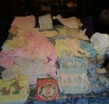 ~ Antique & Vintage lot Of Baby Clothes ~