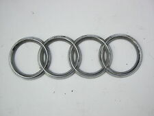 AUDI A4 B6 2001-2005 REAR BADGE RINGS EMBLEM
