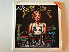 2 DISQUES 33T MARILYN MONROE AND THE HOLLYWOOD STARS