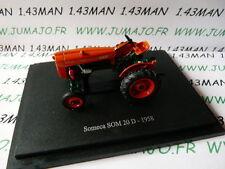 Tracteur 1/43 universal Hobbies n° 112 SOMECA SOM 20D 1958