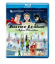 JUSTICE LEAGUE : THE NEW FRONTIER  (DC animated) -  Blu Ray - Sealed Region free