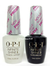 OPI Infinite Shine Nail Lacquer PROSTAY - Prime Base + Gloss Top Coat DUO .5oz