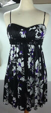 Junior Size M Ruby Rox, Spaghetti Strap Dress Sequined Sash, Ruched Top  Women's