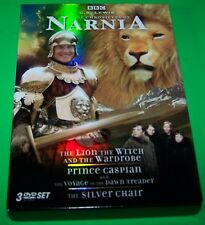 BBC Chronicles Narnia DVD Set [Lion Witch Wardrobe Silver Chair Prince Caspian]