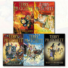 Discworld Novels Series Collection 5 Books Set By Terry Pratchett Maskerade NEW