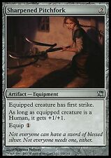 Sharpened Pitchfork X4 EX/NM Innistrad MTG Magic Cards Artifact Uncommon
