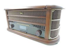 Dual NR50  DAB Stereo Plattenspieler Nostalgie ,UKW,MW,CD,USB Kassette *B-Ware*