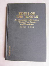 Old Book Kings of The Jungle by David Fury About TV's Tarzans 1994 GC