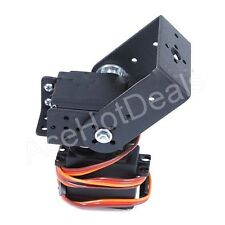 BLACK Slope Arm 2 DOF Pan and Tilt With MG995 Servos Sensor Mount kit for Robot