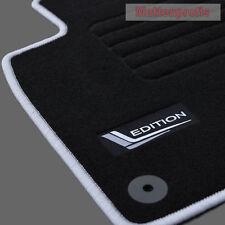 Mattenprofis Velours Logo Fußmatten für VW Passat 3G B8 ab Bj.08/2014 silber