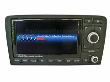 2016 AUDI A3 S3 RS3 8P G LED RNS-E MEDIA Navigation Plus System Sat Nav MMI DVD