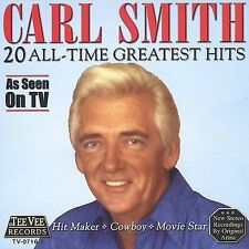 20 All-Time Greatest Hits by Carl Smith (CD, Oct-2003, Teevee Records)