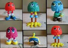 Funny Fry Friends Guy 1989 McDonalds Meal toy LOT 5 Matey Sweet Cuddles Tracker
