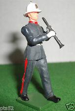 VINTAGE BRITAINS, Royal Marine bandsman Con Clarinetto in ottime condizioni
