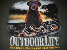 Outdoor Life - Hunting Dog T-Shirt XL  NEW w/ Tags