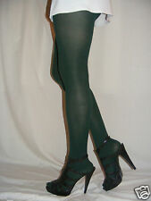 Women Green Tights Pantyhose 70 Denier Jonathan Aston Size C-Large