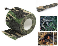 4.5M Camouflage Tape Bandage for Bicycle Flashlight Camping Hunting Wrap WD A